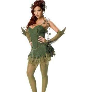 NEW Batman's Secret Wishes Poison Ivy Costume M